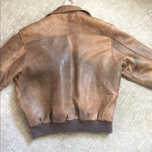 Wear Me Out Jackets & Coats - Vintage WEAR ME OUT Lambskin Leather bomber